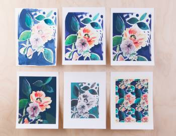 Digitizing Watercolor: Creating Art Prints in Photoshop