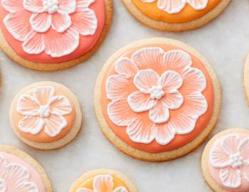 Painting on Cookies and Cakes
