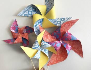 Paper Pinwheels: 6/22/17
