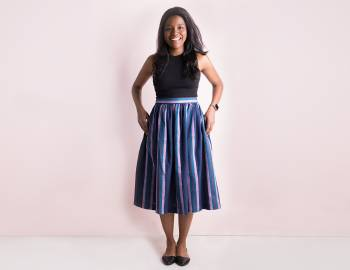 Sewing Essentials: The Cleo Skirt