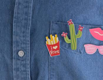 Cricut Crafts: Print-Then-Cut Flair Pins