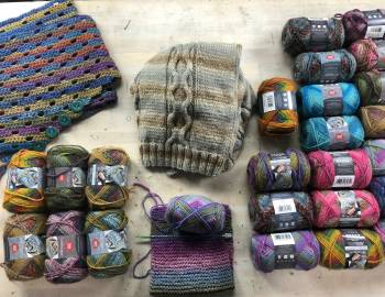 Colorscape Yarn with Marly: 11/28/18