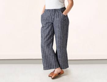 Draft and Sew Wide Leg Pants