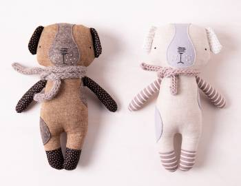 Sew a Luckyjuju Puppy Doll