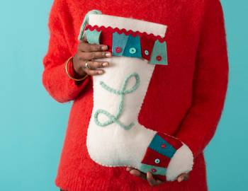 Sew a Christmas Stocking Using EZ Quilting Templates