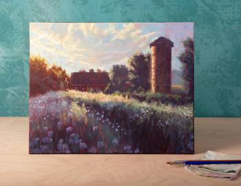 Paint a Landscape in Oils
