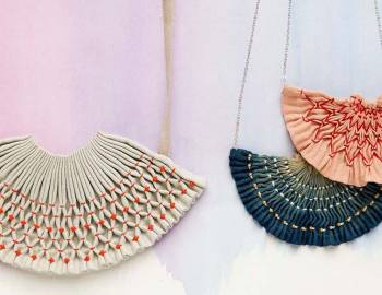 Smocked Necklace