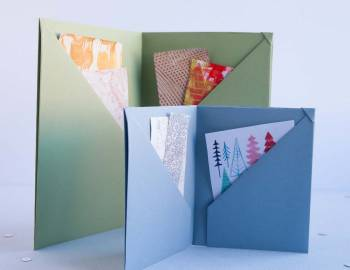 Six Pocket Keepsake Book