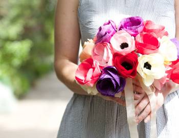 Paper Flowers: Make an Anemone Bouquet