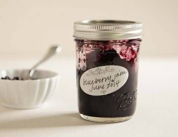 Canning the Best Blueberry Jam