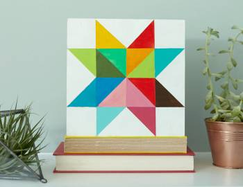 Paint a Geometric Star
