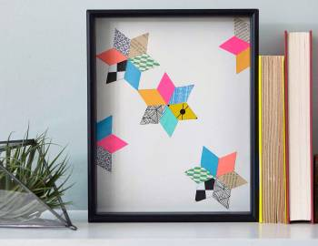 Make a Geometric Paper Collage