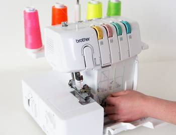 How to Thread a Serger