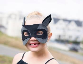 DIY Raccoon Mask