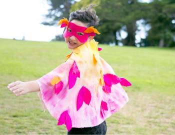 Quick and Easy Bird Costume