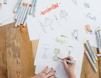 Daily Drawing Challenge: 31 Things to Draw with Pam Garrison