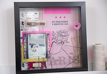 Learn how to make a shadowbox as a home decor idea or as a shadowbox frame