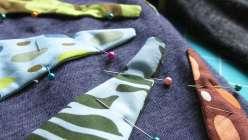 Make an easy appliqué tunic; Amy Butler teaches how to make design decisions when you create your tunic – how to machine appliqué a design.