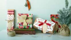 In this class Lia Griffith teaches you new ways to dress up wrapped packages with a Cricut Explore cutting machine