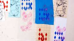 Learn how to select the best surface for your screen printing project in this free technique class with Hilary Williams.