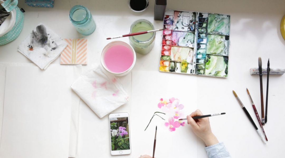 Watercolor FAQs with Yao Cheng