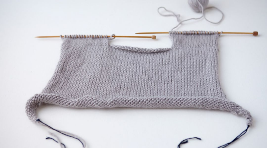 Top-Down Sweater Knitting