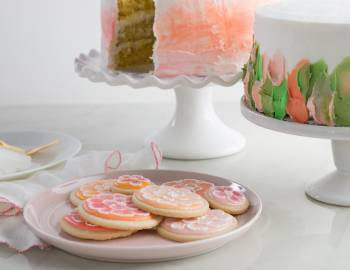 Surface Designs with Royal Icing and Buttercream