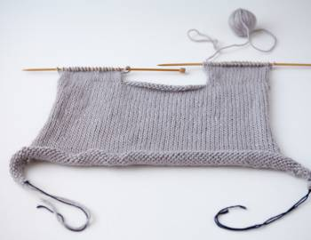 Top-Down Sweater Knitting: Custom-Fit Set-In-Sleeve Sweater