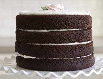 The Wilton Method of Cake Decorating: Bake a Naked, Layered Chocolate Cake