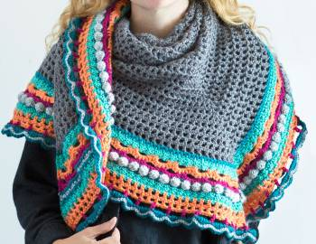 Crochet Shawl Workshop: Triangle Shawl