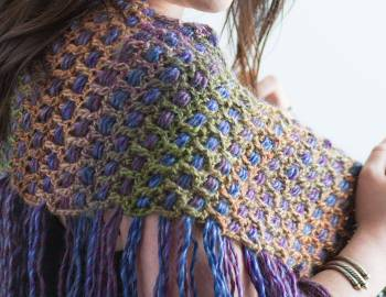 Crochet Shawl Workshop: Side-to-Side Shawl