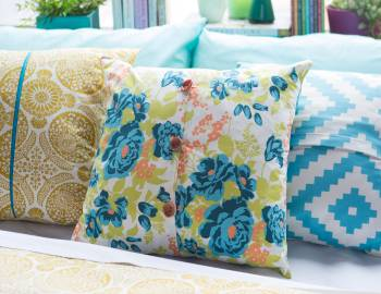 Easy Home Decor Sewing: Pillows and Pillowcases