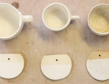 Hand-Built Ceramics: Introduction to Glazing
